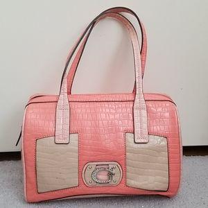Beautiful Guess Bag with rhinestone Guess emblem!